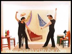Aprenda a bailar sevillanas. La tercera.