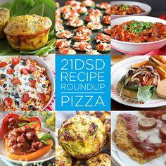 21DSD Recipe Roundup | Pizza