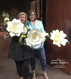 Huge flower video tutorial and pattern thanks to Inking Idaho Becky!!!