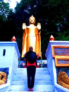 Luang Prabang, Laos Mount Phou Si http://twistedfootsteps.com/four-days-in-luang-prabang-thats-one-lucky-luang/