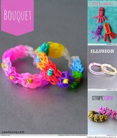 Rainbow Loom Tutorials : Loomlove