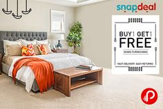 #Snapdeal #offers buy 1 Get 1 Free on Home Furnishing Products. http://www.paisebachaoindia.com/get-1-free-on-buy-1-home-furnishing-products-snapdeal/