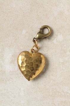The Collector's Charm, Hammered Heart - StyleSays