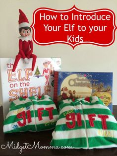 How to Introduce Elf on the Shelf to your kids