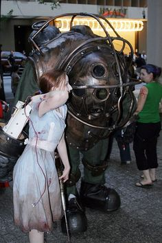 Big Daddy (Bioshock) full costume tutorial