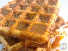 Waffle Churros | PratoFundo