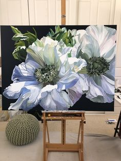 Oil painting Flowers art large blank canvas for painting kids and canvas koi fish paintings on canvas flower painting easy step by step Oil Painting Flowers, Watercolor Flowers, Watercolor Paintings, Fish Paintings, Diy Painting, Arte Floral, Canvas Art, Blank Canvas, Painting Inspiration