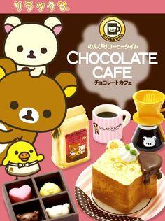 Re-Ment Rilakkuma Chocolate Cafe Dolls Miniature - Re-Ment Miniature - kawaii shop modeS4u by modes4u