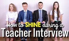 Teacher Interview Tips to help you stand out