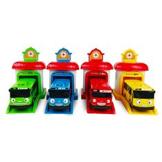 Free delivery  4pcs/set  Korean Cute Cartoons garage tayo the little bus model mini tayo plastic baby car for Christmas gift #>=#>=#>=#>=#> Click on the pin to check out discount price, color, size, shipping, etc. Save and like it!