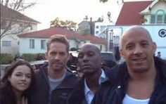 Afbeeldingsresultaat voor fast and furious 7 behind the scenes
