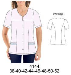 Delantales Elegant Dresses Classy, Classy Dress, Corporate Uniforms, Scrubs Uniform, Diy Clothing, Plus Size, How To Wear, Clothes, Fashion