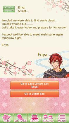 Shall We Date Destiny Ninja  Enya  Main Story  Love Letter