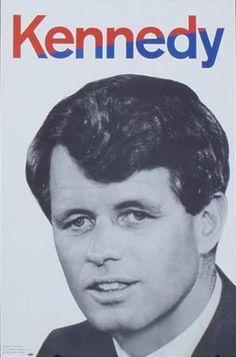 Robert Kennedy President Original Vintage Political Poster. Date: 1968