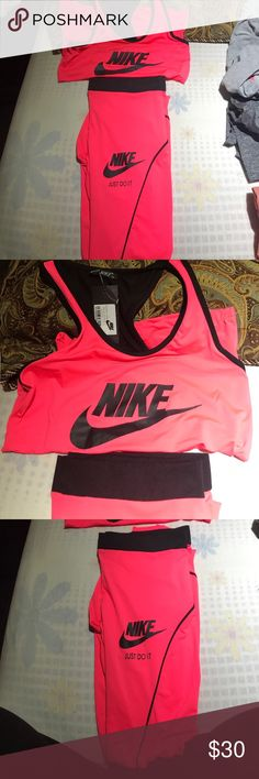 Nike t shirt and bans New never used Nike Tops Tees - Long Sleeve