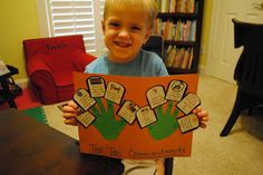 Oh, The Thinks You Can Think!: Thoroughly Thoughtful Thursday: The Ten Commandments from Train Up A Child