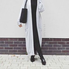 Style moderne et modeste!  #Hijab