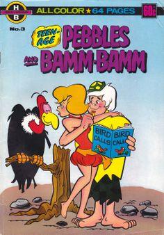 Pebbles and Bamm-Bamm Charlton) comic books Old Comic Books, Vintage Comic Books, Vintage Cartoon, Comic Book Covers, Vintage Comics, Good Cartoons, Old School Cartoons, Retro Cartoons, Classic Cartoons