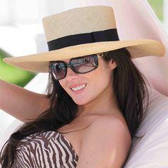 Sombrero de Panamá Cuenca - Chemise para Mujer (Grado 3-4) Ala Ancha ee53bc21a97