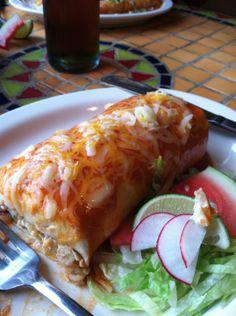 The super burrito at Sunfire Mexican Grill is amazing!