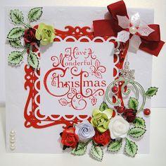 Arty Andrea I Card, Christmas Wreaths, Holiday Decor, Blog, Home Decor, Decoration Home, Room Decor, Blogging, Home Interior Design