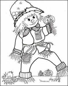 scarecrow coloring pages halloween scarecrow coloring pages free coloring pages