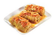 Cabbage Rolls - Stuffed with Mixed Meat & Rice in Vegetable-Tomato Sauce from #YummyMarket
