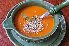 Rote Linsen - Kokos - Suppe