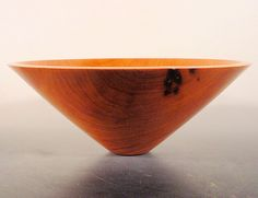 Pernambuco Wood Bowl Turned Wooden Bowl Number 6504 by Bryan Nelson by NELSONWOOD on Etsy