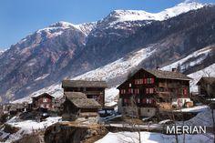 Das Schweizer Bergdorf Vals
