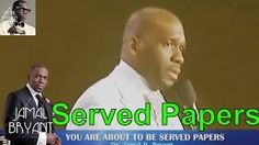 Pastor Jamal Bryant Minitries Sermons 2016 - You Are About To Be Served Papers