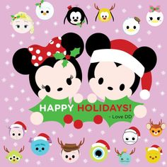 tsum tsum holiday