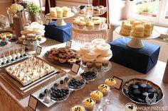 25. Platinum Golden Wedding, Sweet buffet Sweet buffet decoration / Platynowo złote wesele, Słodki bufet, Anioły Przyjęć