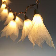 9ft Tropical Flower Lights String Lights - Natural White 110V AC