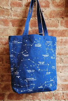 Constellations Totebag | Old Hollywood