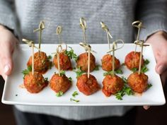 Classic Italian Turkey Meatballs Recipe : Giada De Laurentiis : Food Network // tried it and delicious! I baked at 350 for min until golden brown. Giada De Laurentiis, Italian Sausage Meatballs, Turkey Sausage, Baked Turkey, Italian Meatloaf, Cocktail Meatballs, Mini Meatballs, Turkey Chili, Recipes