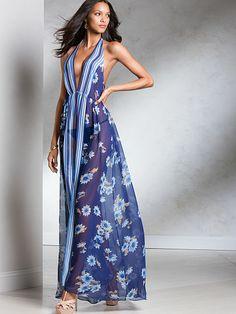 6c64422c63 Chiffon Gown Very Sexy Lingerie Sleepwear