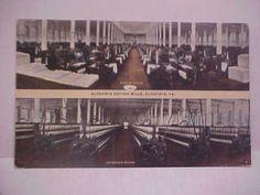 VA-ALTAVISTA-Cotton-Mills-Multiview-W-E-BURGESS-SCOTTSVILLE-Postcard