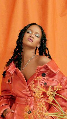 Mode Rihanna, Rihanna Riri, Rihanna Style, Alissa Violet Style, Rihanna Outfits, Photoshoot Themes, Orange Aesthetic, Bad Gal, Black Is Beautiful