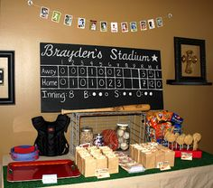 Creatively Purposed: Baseball Birthday Party