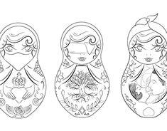 Russian Dolls Tattoo More