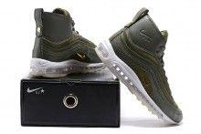 Herren NikeLab Riccardo Tisci Air Max 97 Mid Boots Olive