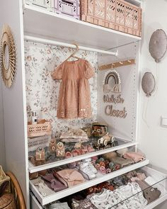 5 clever ideas to prepare the nursery . Nursery Wall Decor, Baby Room Decor, Nursery Room, Girl Nursery, Girl Room, Baby Bedroom, Girls Bedroom, Baby Room Design, Nursery Inspiration