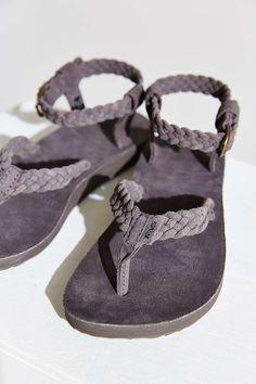 Teva Original Suede Braid Sandal - Urban Outfitters