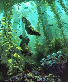 Mark Hobson. Sea Otters Return