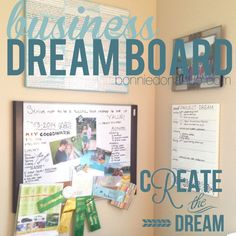 Organize Your Business Vision Board #organizenowblogtour