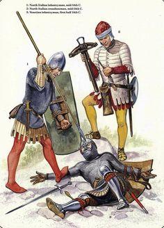 Italian Infantry Early-Mid 14th Century