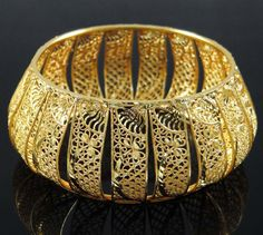 Gold Plated Bangle Set Traditional Indian #Bracelet
