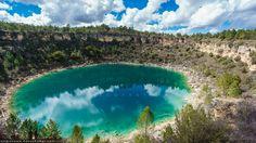 Laguna gitana en Cañada del Hoyo Las torcas de los Palancares y las lagunas de Cañada del Hoyo #Caprichos #Maravillas #Paisajes