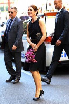 Denmark's Princess Mary at Ole Lynggaard Copenhagen store opening in Sydney, NSW, Australia, 25.10.13